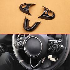 Carbon Fiber Steering Wheel Trims For Mini F54 F55 F56 F57 F60 Accessories