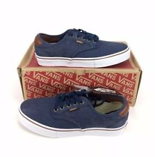 NEW Vans Chima Ferguson Pro Twill Navy Blue Skate Shoes Sneakers Mens Size 7.5