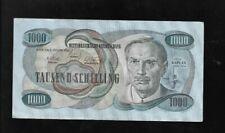 1000 Schilling  2.Jänner 1961 Viktor Kaplan C 618093 B Eiamaya