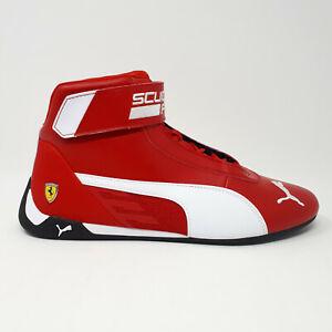 Puma Scuderia Ferrari SF R-Cat Mid Motorsport Shoe Sneaker 339938 01 Red Men's