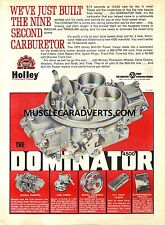 HOLLEY CARBY 850CFM ADVERTISEMENT POSTER SALE BROCHURE GIFT MANCAVE WALL ART