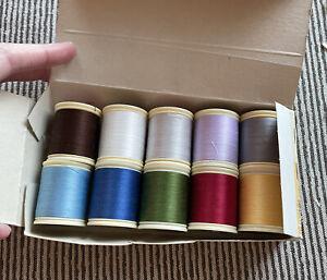DMC Broder Machine 100% Cotton, Full Set of 10 Colors