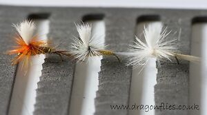 12 Parachutes Hares Ear,Light Cahill, Pale Morning Dun, Trout Fly Fishing Flies