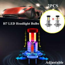 110W Car H7 LED Headlight Lamp Kit Bulbs 360° Adjustable Lighting Fog Light&DRL