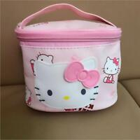 Cute Hello Kitty Storage Case Luggage Travel Makeup Cosmetic Bag Handbag Pink