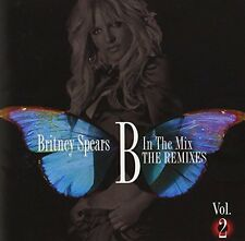 BRITNEY SPEARS B in the Mix the Remixes VoL.2 Japan First CD w/OBI Calendar F/S