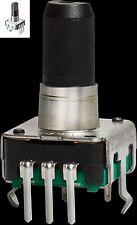 Encoder ALPS ROTATIVO CON PULSANTE 12x12mm 2 canali 5 pin push button rotary cs