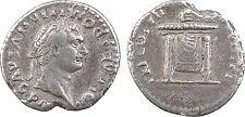 Domitien, denier, Rome-, 81- 2