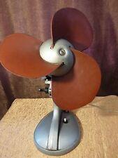 "Vintage Soviet Electric WORKING Fan ""TIP 83-1"" Rubber Blade Ventilator 1969"
