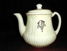 Porcelier Pottery/China Art Deco RIBBED BOTTOM Teapot