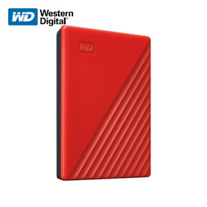 WD NEW 1TB 5TB My Passport Portable External Hard Drive RED with Tracking#