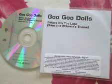 Goo Goo Dolls – Before It's Too Late (Sam And Mikaela's Theme) Warner Promo CD