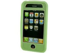 Green Silicone Gel Skin Case For Apple iPhone 3G S