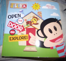 BRAND NEW Picture Book Lift the Flaps Julius Jr. Open the Door and Explore!