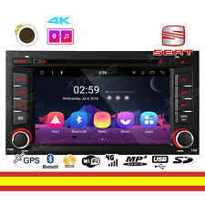 Radio CD para Seat LEON 2013-18 Android 8.1 WIFI BT GPS Soporta 4G OBD + Canbus