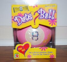 (NEW SEALED) MATTEL PINK MAGIC 8 BALL DATE BALL GIRLS ROOM DECOR QUESTION TOY