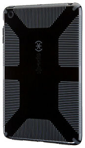 Speck CandyShell Grip Case for Apple iPad Mini 1 2 3 Gen Black/Slate Gray New