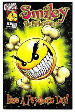 SMILEY THE PSYCHOTIC BUTTON #1 - Chaos! Comics! 1998 (NM)
