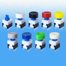 Round Cap 10x4.5mm Size for Tactile Push Button Switch Self Latching Locking