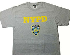 NYPD T Shirt New York City Police Department Shield Badge Logo Licensed Shirt