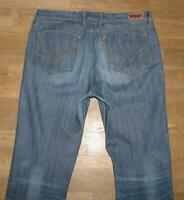 "STARK: "" LEVI`S 629 "" BOOTCUT - JEANS / LEVIS Blue- Jeans in blau W34"" /L34"""