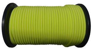 NEON YELLOW BUNGEE CORD bungy elastic rope shock highly durable UV stable