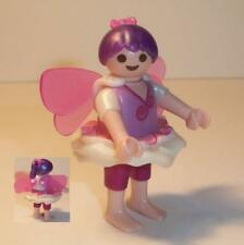 Playmobil    Magic Castle -   Fairy Girl in Purple, Skirt,Wings and Bow  - NEW