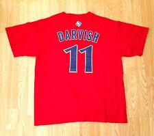 YU DARVISH JAPAN WBC Texas Rangers #11 Jersey T-Shirt MAJESTIC Red Adult XL
