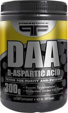 Primaforce D-Aspartic Acid DAA 300 grams 100 servings - Brand New