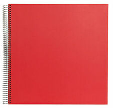 Festival Spiral Bound Traditional Photoboard Photo Album - 60 Black Pages