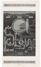 PUBLICITE 1919 SOCIETE DES FONDERIES DE CUIVRE LYON MACON PARIS  AD PUB