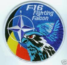F-16 SWIRL PATCH BELGIAN AIR FORCE NATO FALCON SWIRL