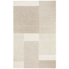 NEW Britt Natural Rectangle AREA RUG 9ft x12ft Neutral Ivory Brown Cream Tones