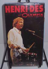 Henri Des al Olympia - Bruno Coquatrix - 1993 VHS - Sony Musique - New & Sealed
