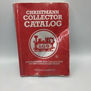 Vintage LGB Christmann Collector Catalog 1993 Depesche Volumes 6-10