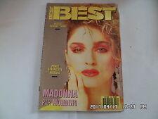 BEST N°224 3/1987 MADONNA STRANGLERS NIAGARA PRINCE JANE BIRKIN ALPHA BLONDY H26