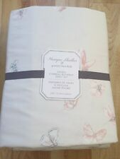 NEW POTTERY BARN KIDS MONIQUE LHUILLIER Sateen Ethereal Butterfly Sheets  Full