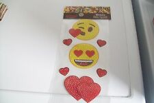 1 SHEET EMOJI DIAMOND STICKER/ SHEET = 24X13 CM (b) NEW NEW