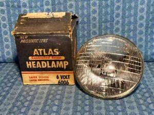 1940-55 GM Ford Chrysler Packard NORS 6 Volt Headlamp Bulb 41 47 49 53 54 #6006