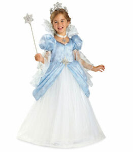 New Chasing Fireflies Winter Princess Snowflake Dress Costume Size 6