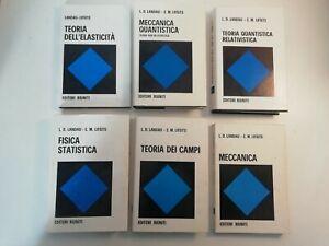 Landau/Lifsits, Editori Riuniti- 6 Vol- Serie scientifica (Meccanica, Fisica)