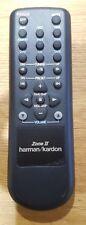 Harman/Kardon Zone II/2 Original DPR-2005 Remote Control/Remote Control NOS