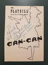 Gwen Verdon & Lilo -signed playbill cover -32 - COA