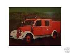 Altes Blechschild Oldtimer Citroen Feuerwehr Werbung Reklame gebraucht  used