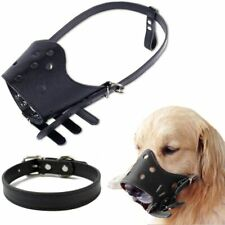 Esleto Dog Muzzle with Dog Collar, Adjustable Breathable Protection - New!