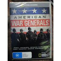 American War Generals National Geographic Doco DVD Iraq Afghanistan War