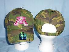 Minnesota Gophers Pink logo Camo Cap/Hat 47 Brand Womens Osfa size Nwt $22