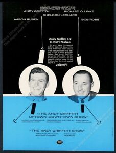 1967 Andy Griffith photo The Andy Griffith Show unusual trade print ad