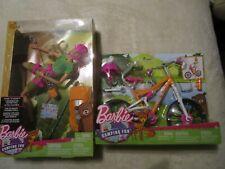 "Mattel Camping Fun Made To Move Rock Climbing Barbie 4.5/"" Orange Back Pack Only"