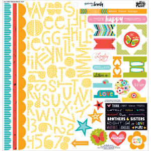 Illustrated Faith Whatever Is Lovely Collection 12 X 12  Stickers Treasures and